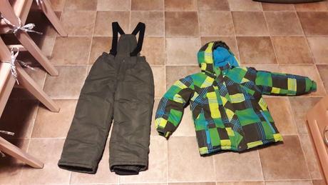 9855826c48423 Predame detske zimne sety bunda+oteplovacky, 128 - 35 € od ...