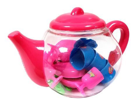 Čajník s doplnkami,