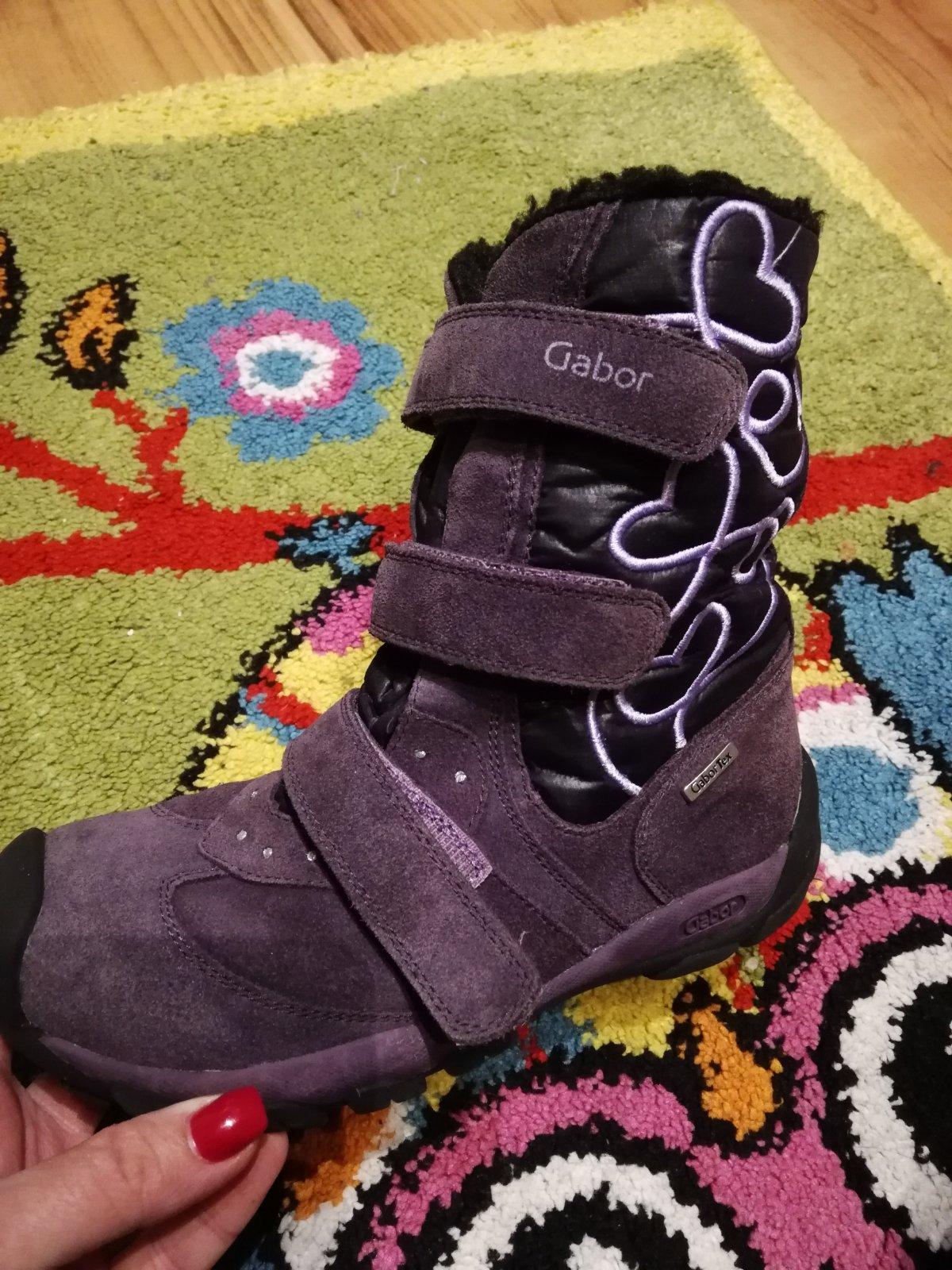 b30a402dfc Kvalitné zimné topánky zn. gabor