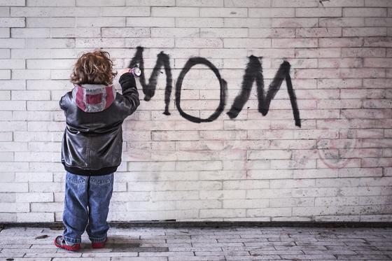 mama naštve veľký péro