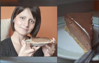 mňamkový čokoládový cheesecake :-)