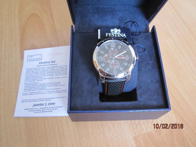 5e115d217a Pánske hodinky zn. festina