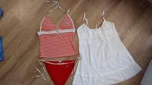 Tehotenske plavky+letne saty, 40