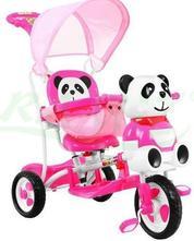 Trojkolka pre deti panda,