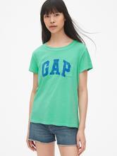 Dámske tričko značky gap xxs po xxl logo  iba na o, gap,l - xxl
