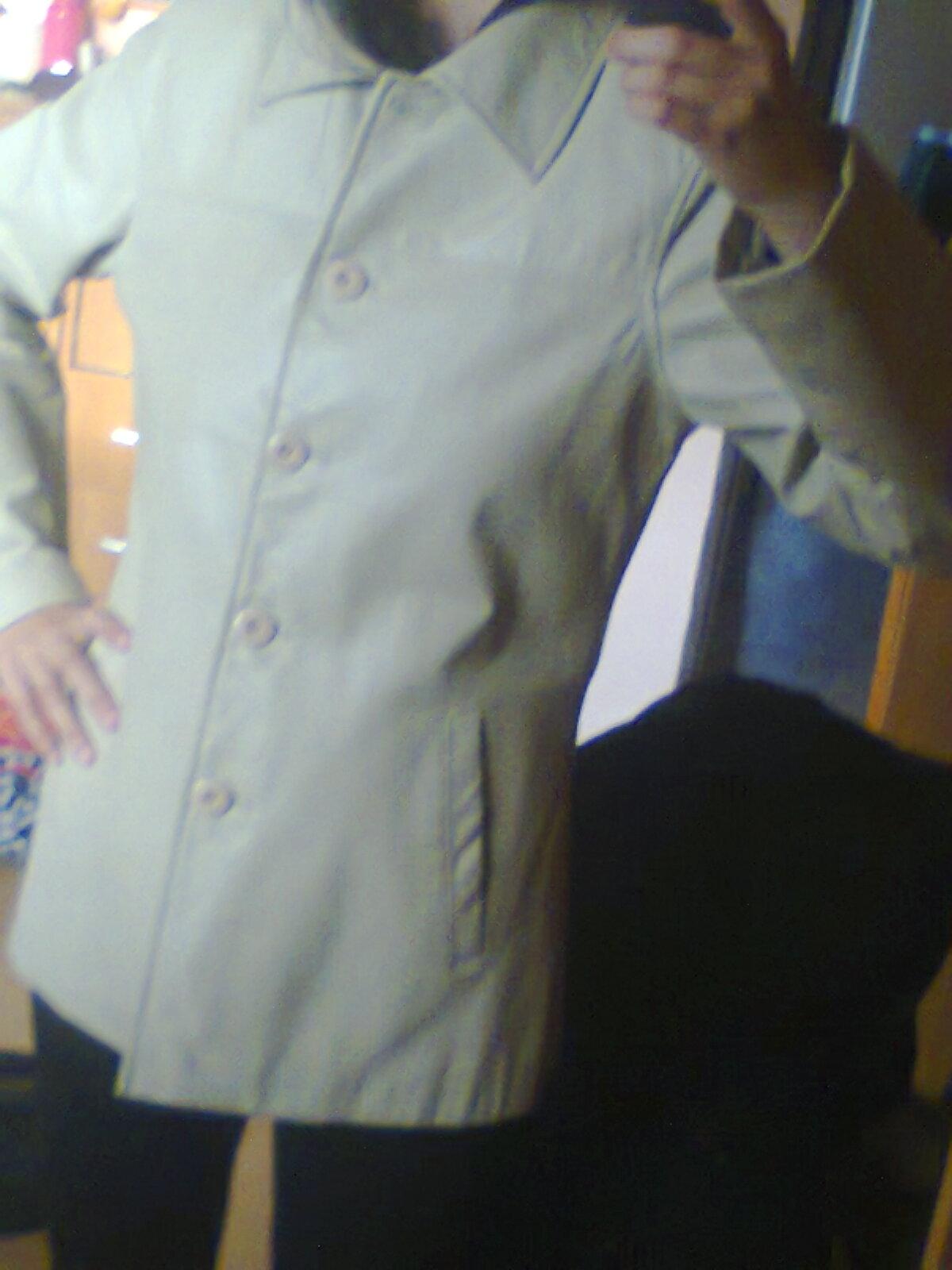 Dámsky kožený kabát different 2231a80a598
