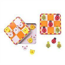 Bigjigs toys magnetické piškvorky zvieratka ,