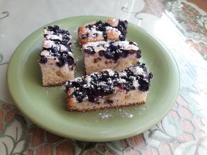 Čučoriedkový koláčik 😊💙