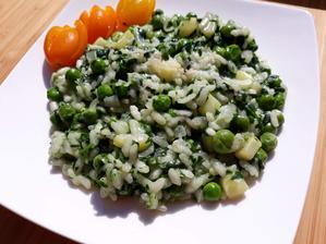 Zelené rizoto