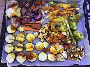 Toto zjem každý den(500g zeleniny )s olivovým olejom a kurkumou , čierne korenie a červená paprika. Plus samozrejme cottage a tofu bolo dnes ☺️
