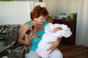 s babičkou Eričkou a Bibkou :-)