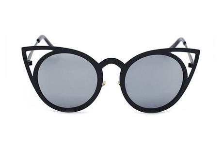 Slnečné okuliare royal cat eyes black - čierne 520b2ecd15c
