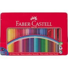 48ks farebných ceruziek/vodoviek faber-castell,