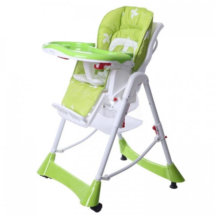 dbc2ac7e7f253 Jedálenská stolička zelená, - 87 € od predávajúcej babatkosk1 | Detský  bazár | ModryKonik.sk