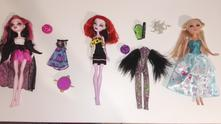 Monster high a barbie,