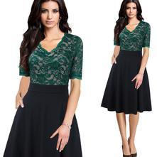 Čipkované šaty xs - 3xl, l - xxxl
