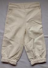 Zamatove nohavice, benetton,74 / 80