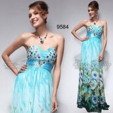 Šaty   Ever-Pretty   Bledomodrá - Detský bazár  9853230383e