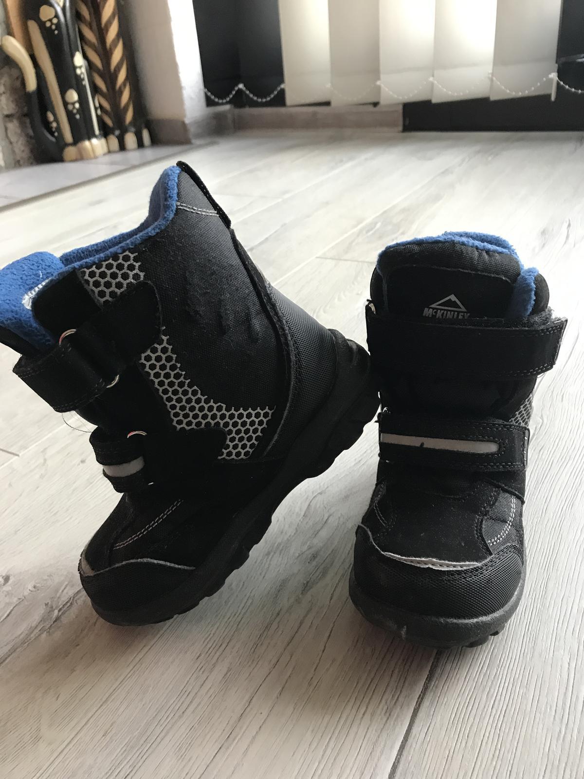 8f00b86f42d7 Zimné topánky snehule