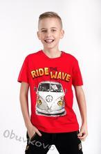 Chlapčenské tričko s krátkym rukávom mm 384 ride r, 122 - 152