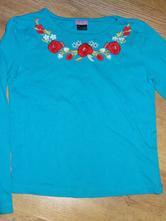 Tyrkisové tričko na 8-9rokov, f&f,134