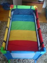 matrac v hornej polohe pre bábo