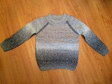 Šedý sveter, veľ. 4-5r., f&f,110
