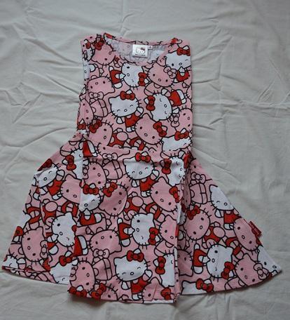 fd44c1d11f76 Letné dievčenské šaty hello kitty