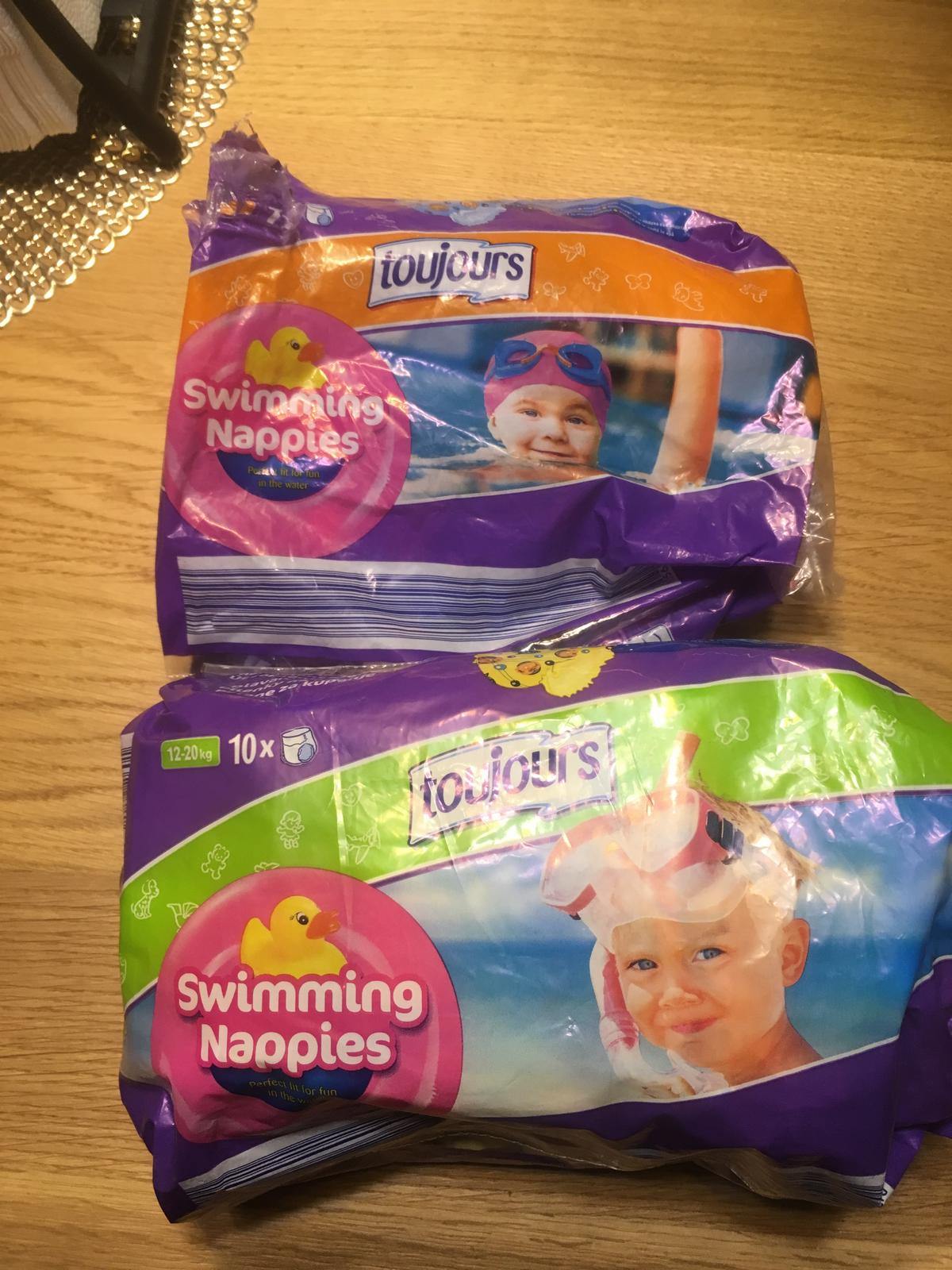 2e15ee2c3 Detské plienky do vody na kúpanie, toujours,11 kg - 25 kg - 3,50 € od  predávajúcej sssima111 | Detský bazár | ModryKonik.sk
