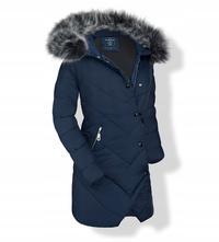 8d7b6b222b72 Dámska zimná bunda s hustou kožušinou