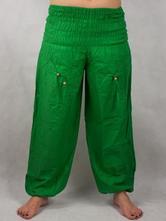 55e112627c6d Turecké nohavice aladinky haremky zelene