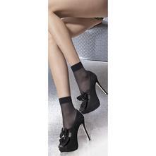 Ponožky maja  - čierne - 2 páry - 15 den, 36 / 38 / l / m / s