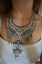 Masívny strieborný náhrdelník,