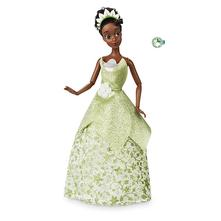 Tiana z rozpr princezná a žabiak orig disney store,