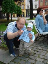Danko a jeho tatino Patko.
