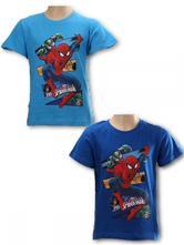 Tričko spiderman modré a bledomodré, marvel,98 / 110