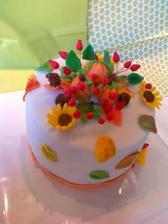 Jesenna- dekoracie z cukrovej hmoty