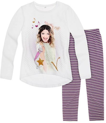 64064ac125c7 Dievčenský set tričko s legínami disney violetta