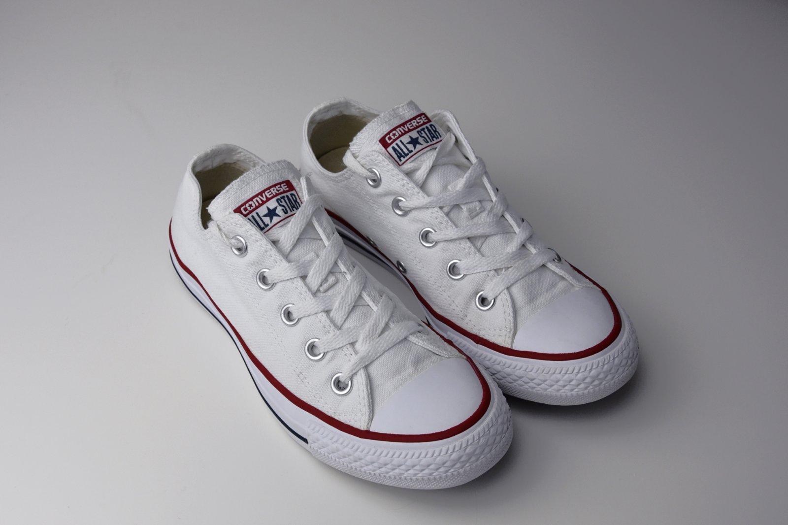 0ada632f8e68d Converse biele platene 36.5 37 uk4, converse,37 - 35 € od predávajúcej  kiwi3 | Detský bazár | ModryKonik.sk