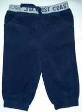 Menčestrové nohavice, f&f,74