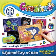 400877955 Creativo zoškrabávacie obrázky podmorský svet 8ks,. 3 ...