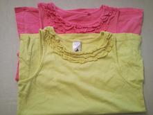 2 x tričko, c&a,134