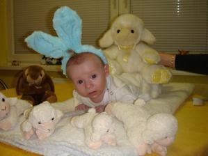 Som maly zajacik Usiacik...