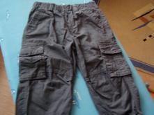 Šedé nohavice chlapčenské, 92