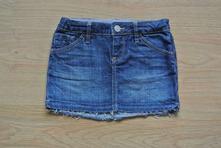 Riflová suknička bez zakončenia, 5yrs, gap,110
