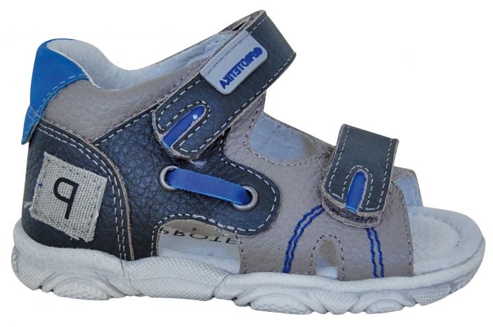 4e129b8ee934b Protetika chlapčenské sandále grande - modré, protetika,19 - 25 - 30,90 €  od predávajúcej princeznovo   Detský bazár   ModryKonik.sk