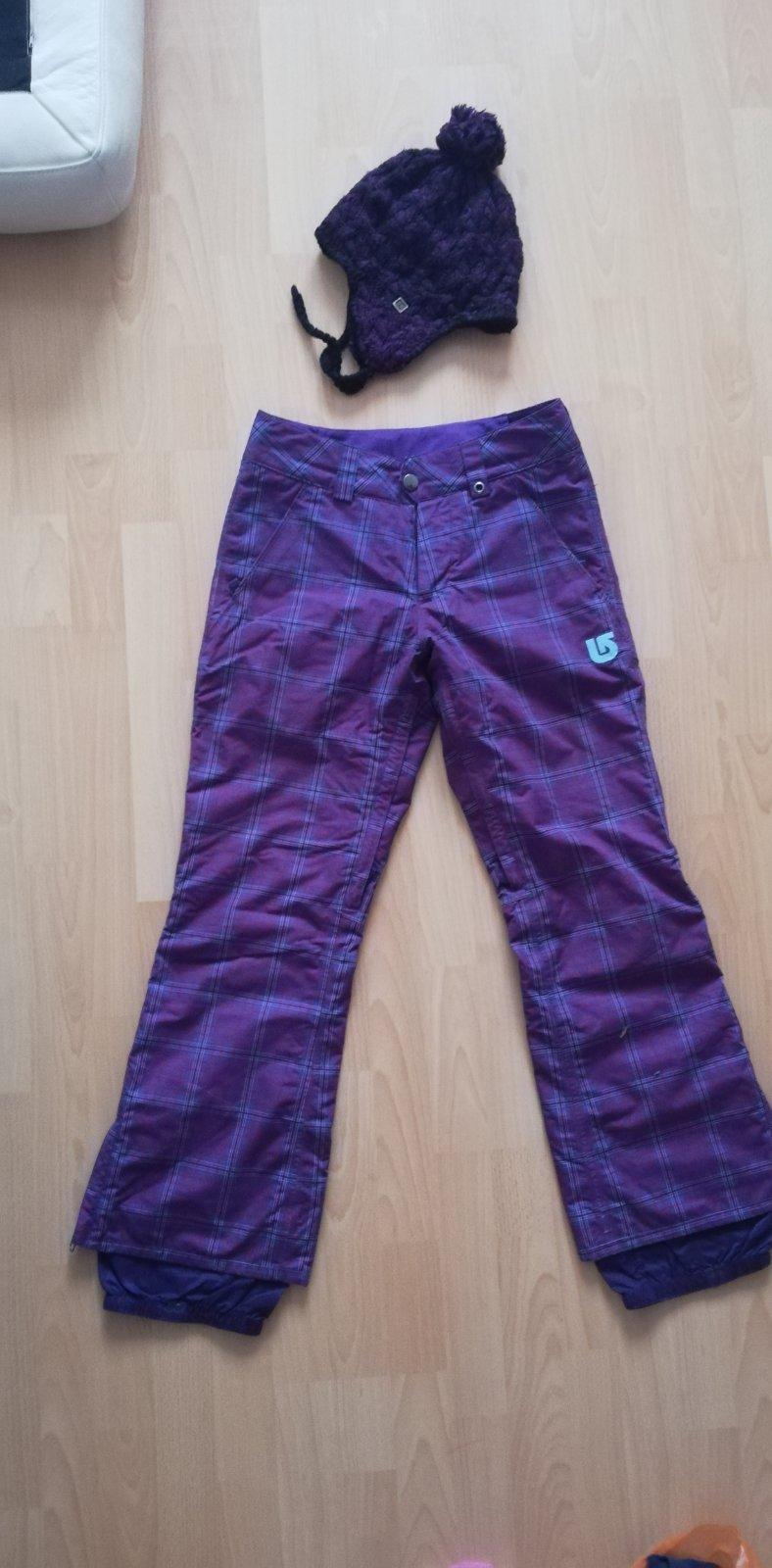 8c18dd8092e1 Lyziarske nohavice burton + ciapka zadarmo