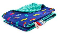 Sensillo deka minky 75x100 cm modra,