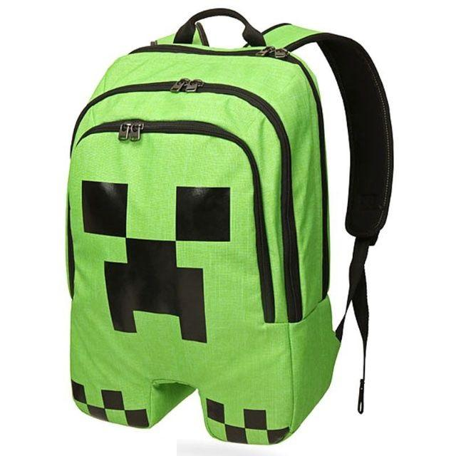 5c0ccba560 Minecraft creeper batoh