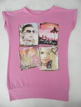 Pekné predĺžené tričko, c&a,134